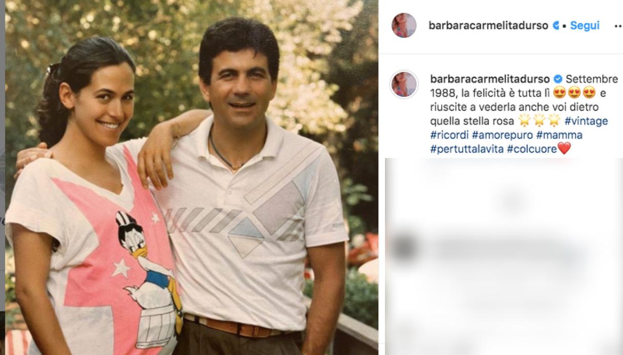 Barbara D'Urso e Mauro Berardi