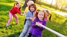 Dieci giochi all'aria aperta da fare coi bambini