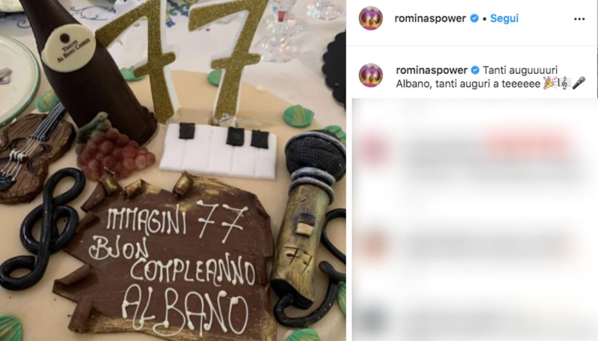 Il post di Romina Power per Al Bano