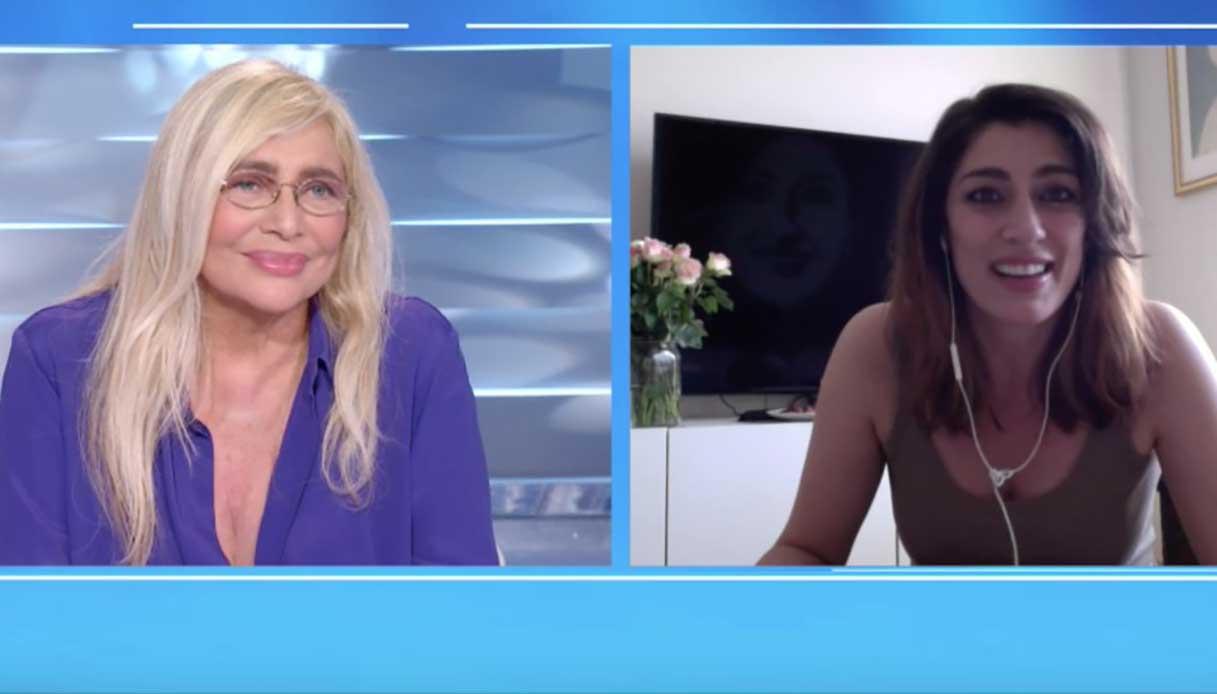 Mara Venier e Elisa Isoardi