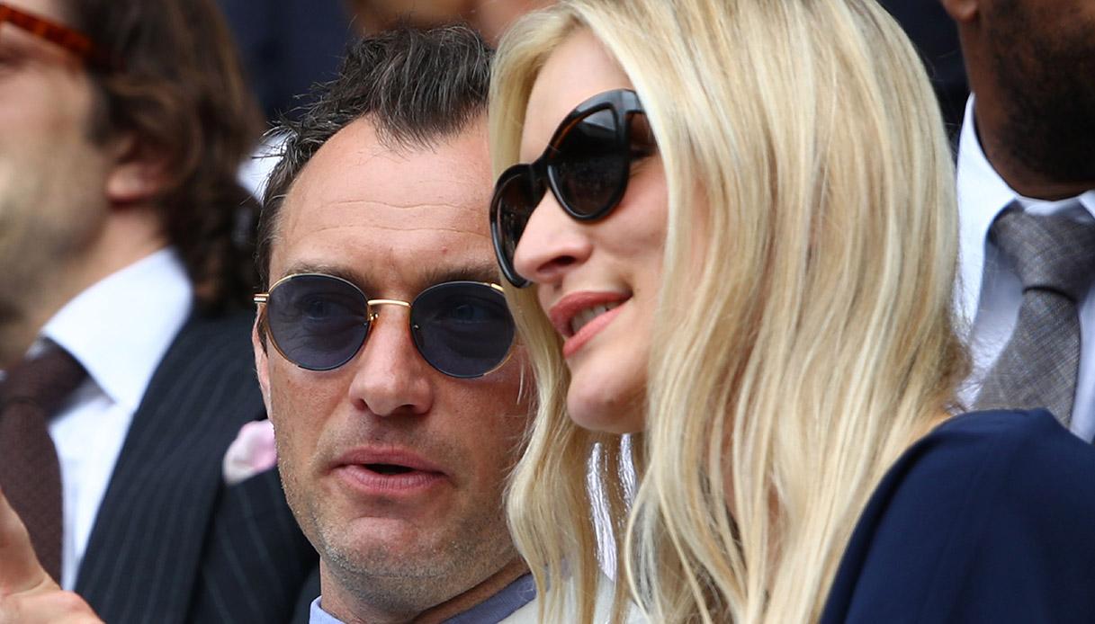 Philippa Coan e Jude Law