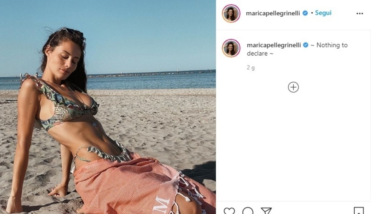 Marica Pellegrinelli Instagram