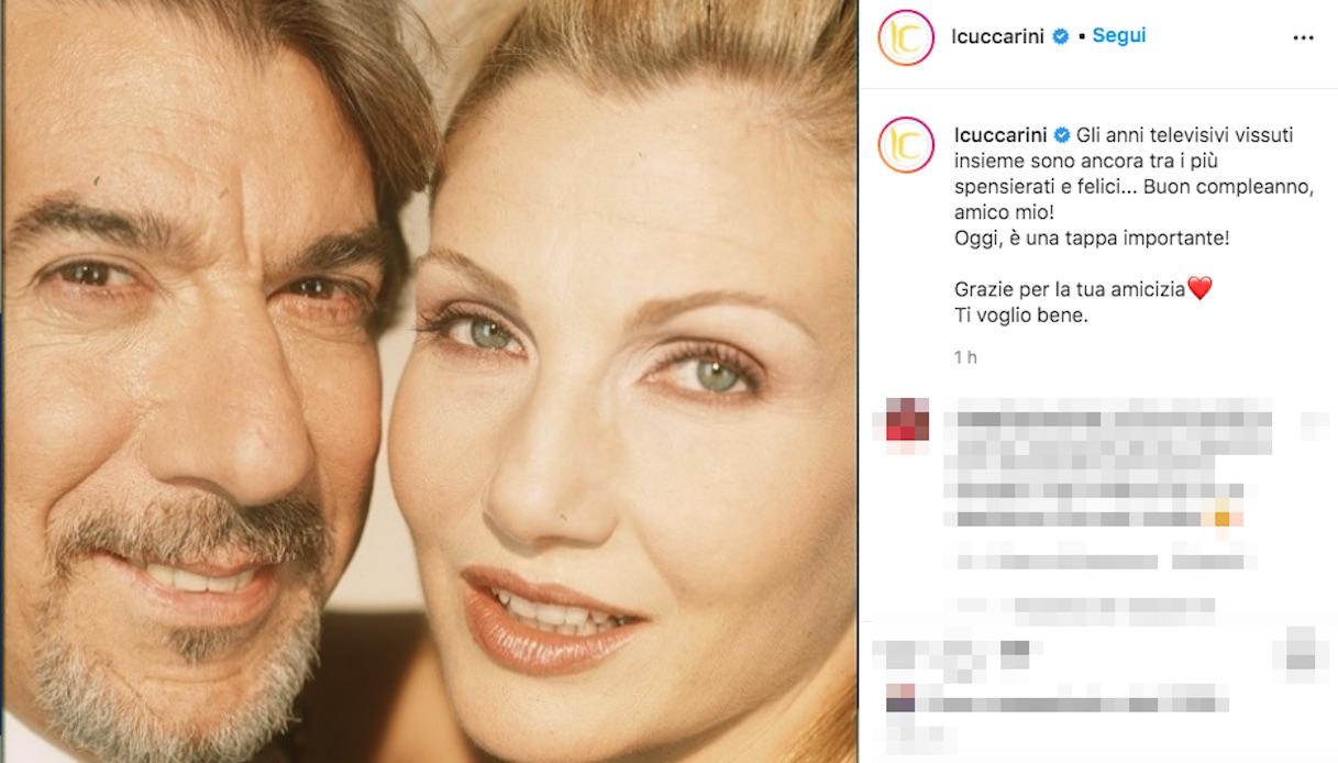 Lorella Cuccarini e Marco Columbro