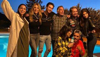 """Reunion per gli amici del GF Vip: """"La gang del bosco"""""""