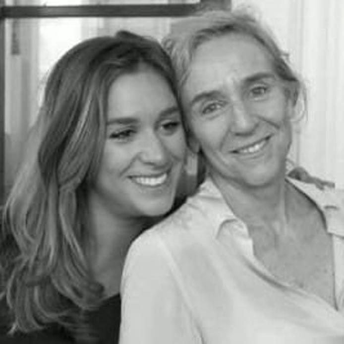 Giovanna Botteri con la figlia