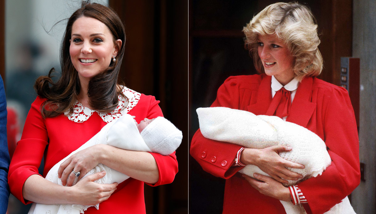 Kate Middleton e Lady Diana