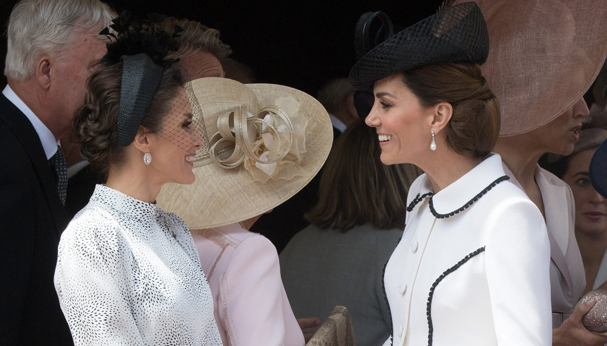Letizia di Spagna e Kate Middleton