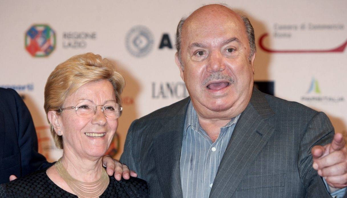 Lino Banfi e la moglie Lucia Lagrasta in Zagaria