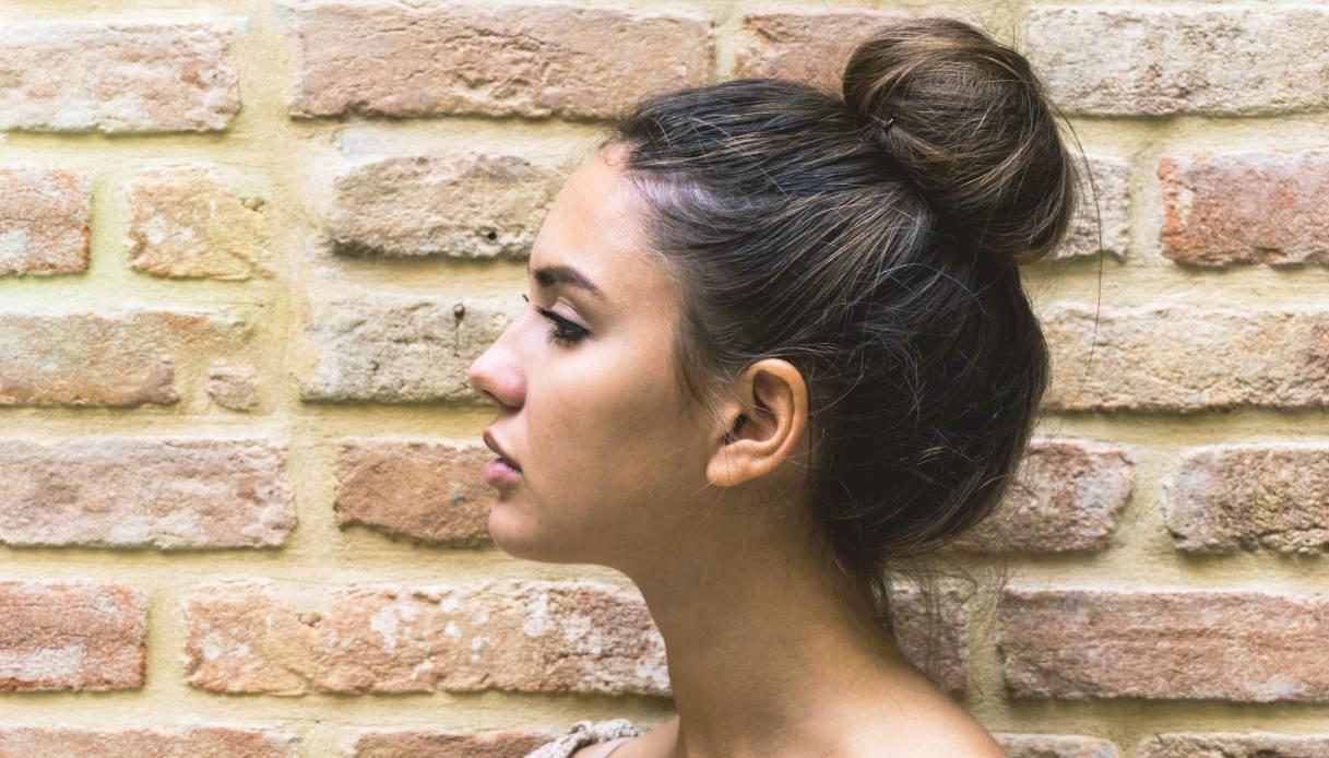 Chignon per capelli lunghi