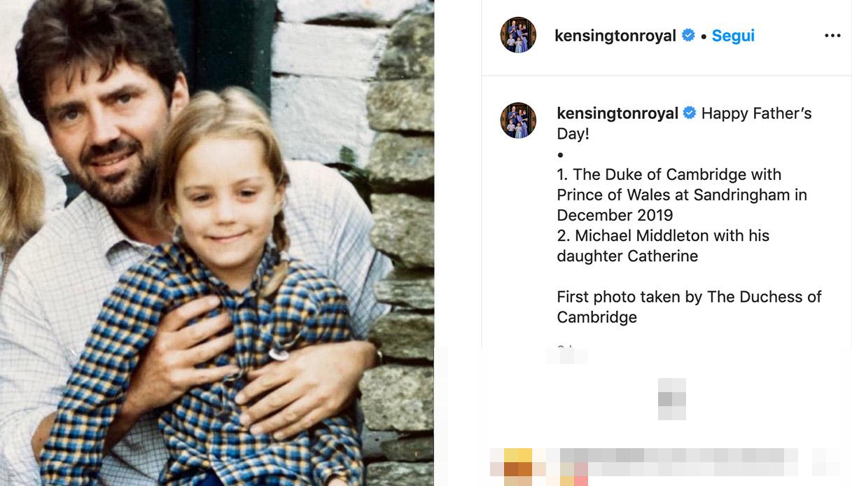 Kate e Michael Middleton