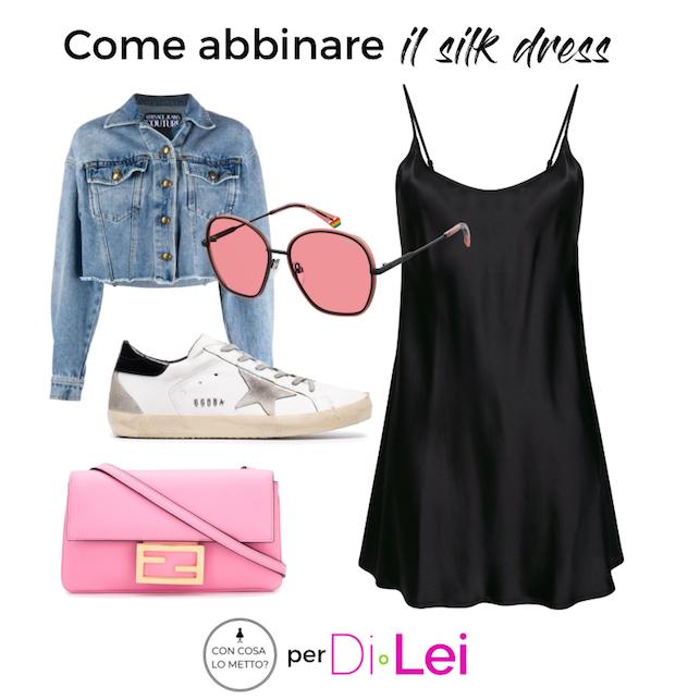 Silk dress: come indossare con stile l'abito in seta