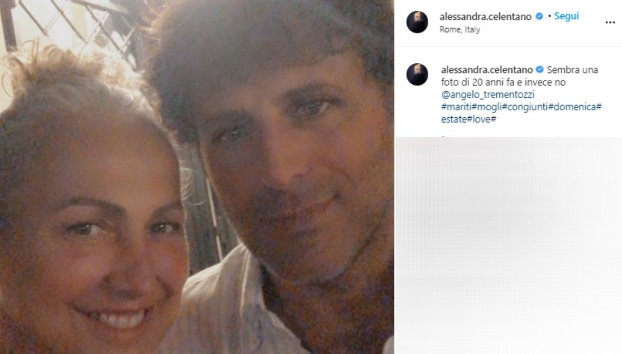 Angelo Trementozzi e Alessandra Celentano