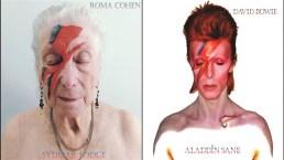 Gli anziani della casa di riposo diventano i protagonisti delle copertine di album iconici
