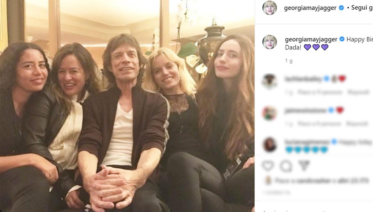Mick Jagger, 77 anni festeggiati con tutte le sue donne