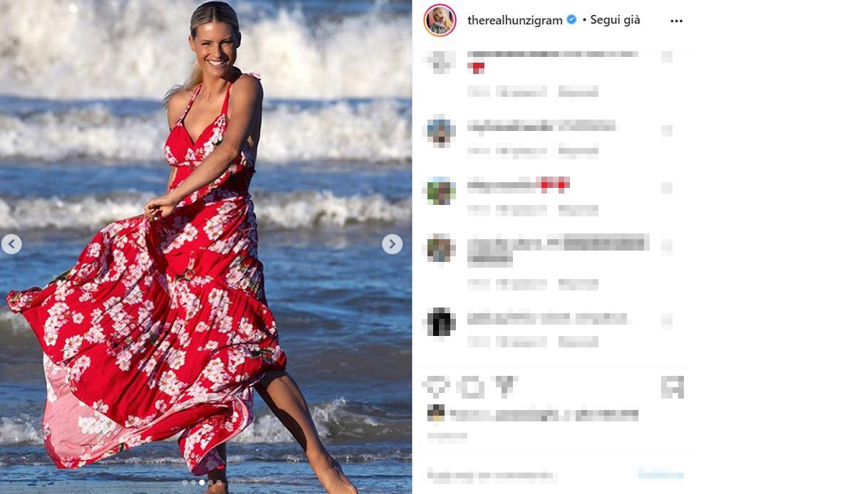 Michelle Hunziker non solo in bikini: le foto da modella inc