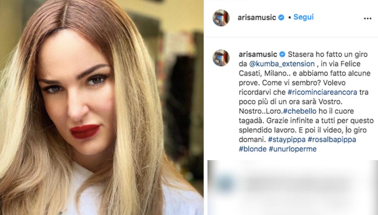 Arisa Instagram