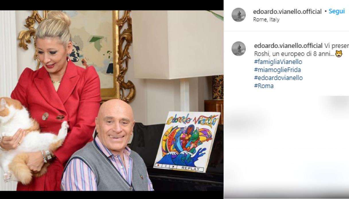 Edoardo Vianello e la moglie Elfrida Ismolli
