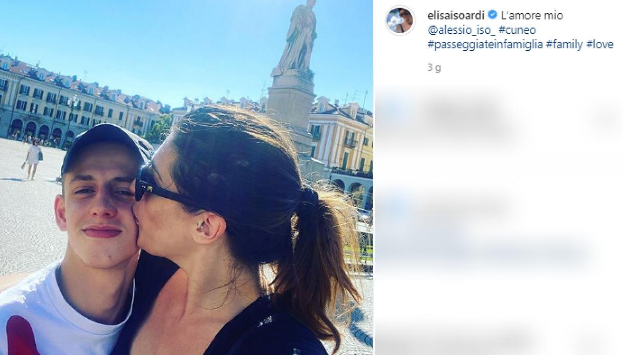 Elisa Isoardi, la foto dolcissima con il nipote Alessio