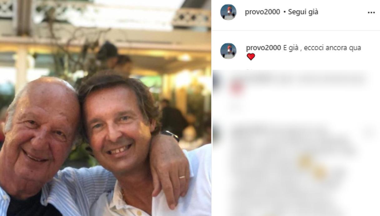 Mara Venier, Nicola e Gerò Carraro sempre più uniti: la foto su Instagram