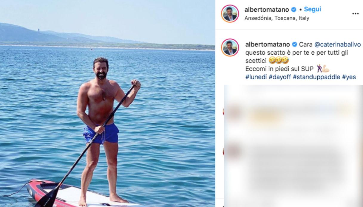 Alberto Matano Instagram