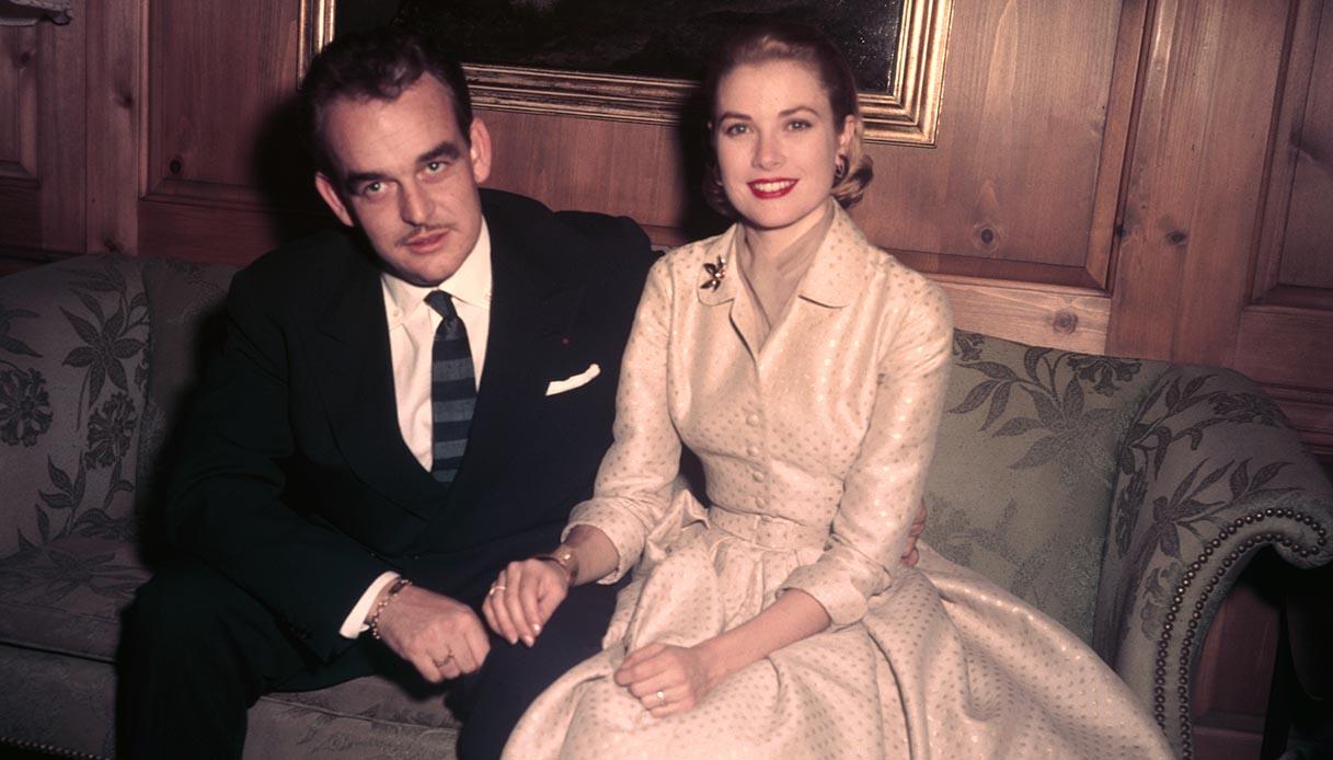Grace Kelly e il Principe Ranieri III