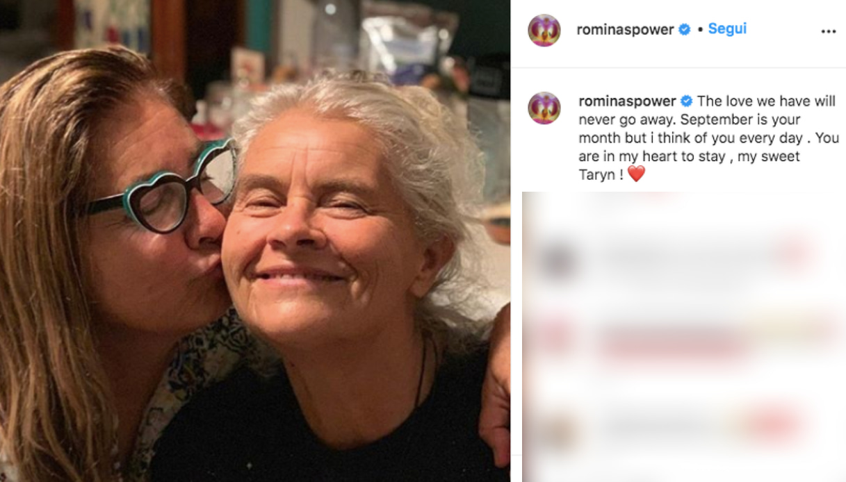 Romina Power e la sorella Taryn Instagram