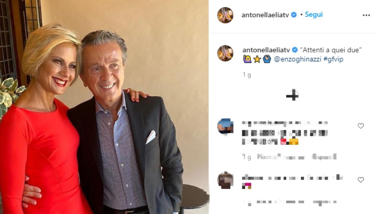 Antonella Elia e Pupo