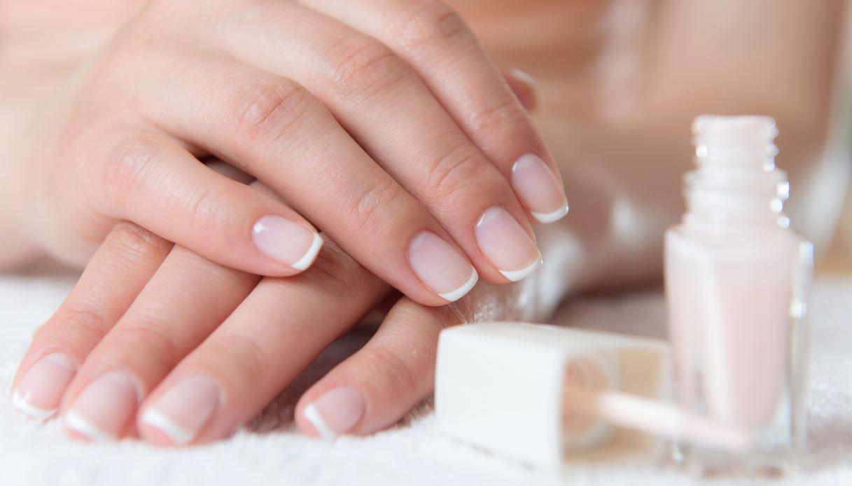 French manicure per l'autunno