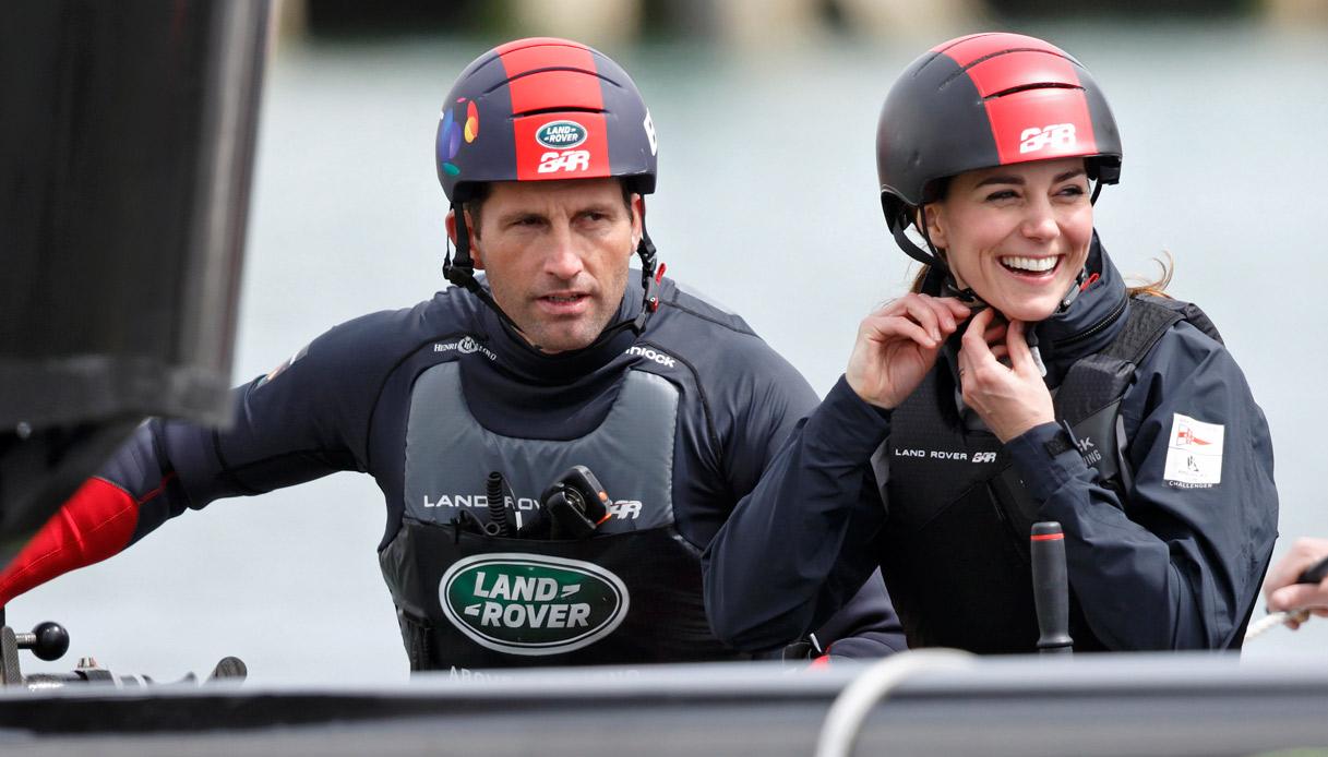 Kate Middleton telefona al campione di vela e spuntano voci sulla gelosia di William