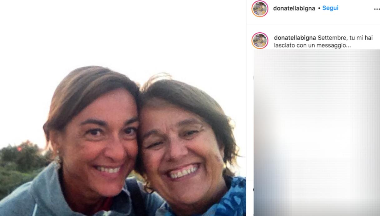 Donatella, la sorella di Daria Bignardi Instagram