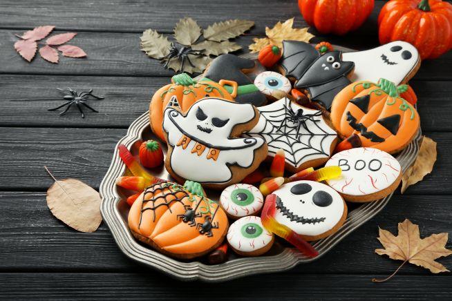 Biscotti e dolcetti di Halloween