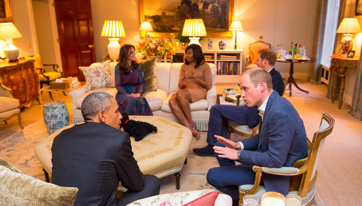 Obama Kate Middleton William Harry