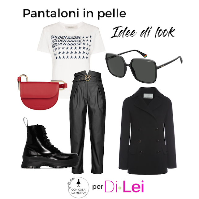 Pantaloni in pelle: how to