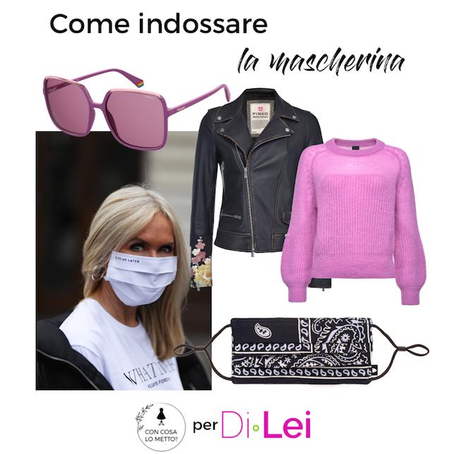 Come indossare la mascherina con stile