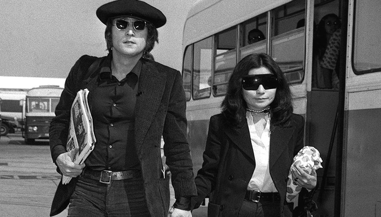 Yoko Ono e John
