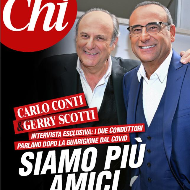 Carlo Conti e Gerry Scotti, come è cambiato il loro rapporto col Covid