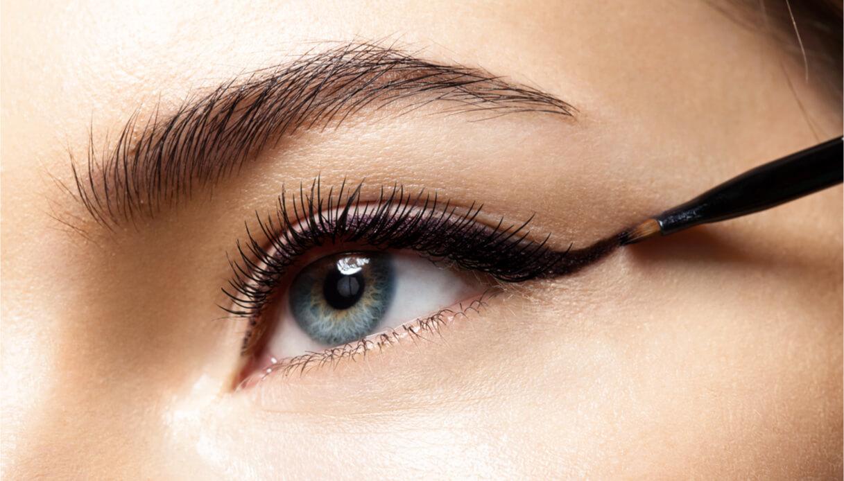 Eyeliner occhi grandi