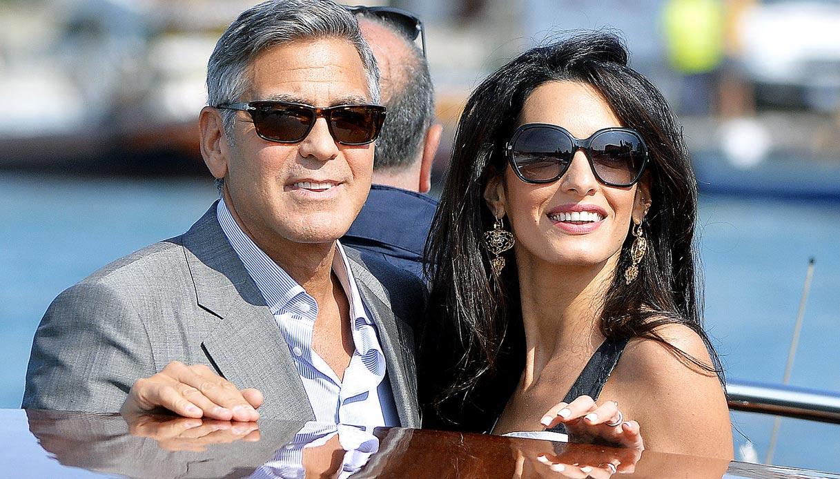 George Amal Clooney matrimonio