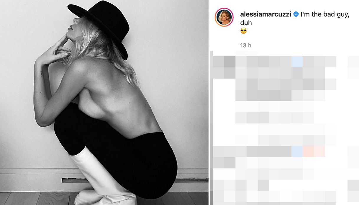 Alessia Marcuzzi non va in onda: il motivo c'entra con il marito
