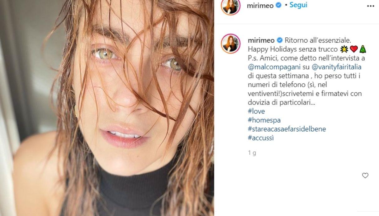 Miriam Leone senza trucco