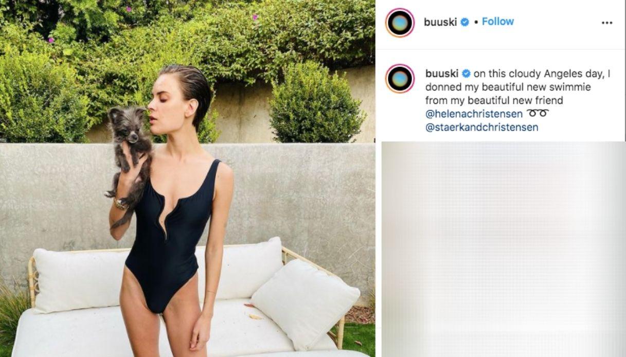 Il post Instagram di Tallulah Willis