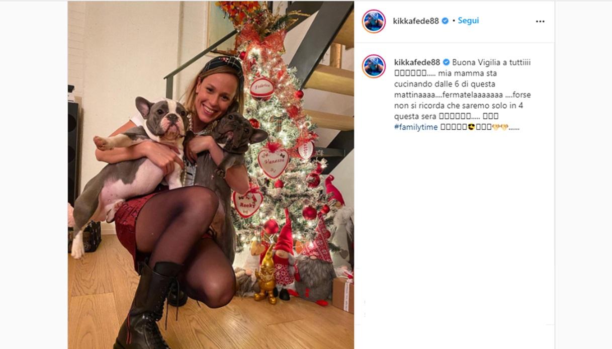 Federica Pellegrini Natale Instagram