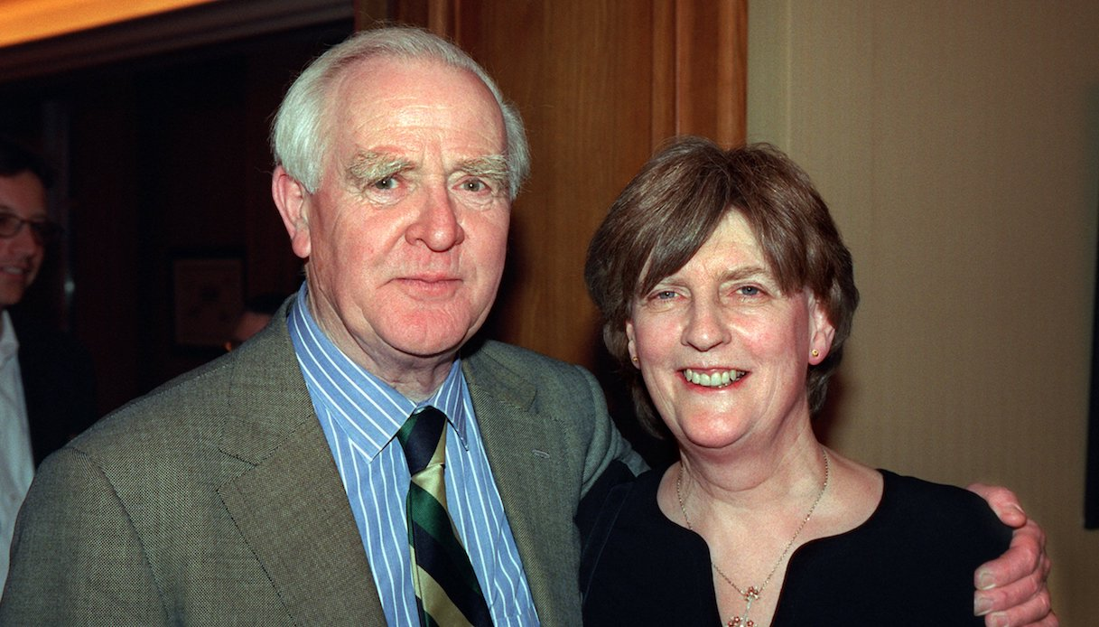 John Le Carrè e la moglie Valerie