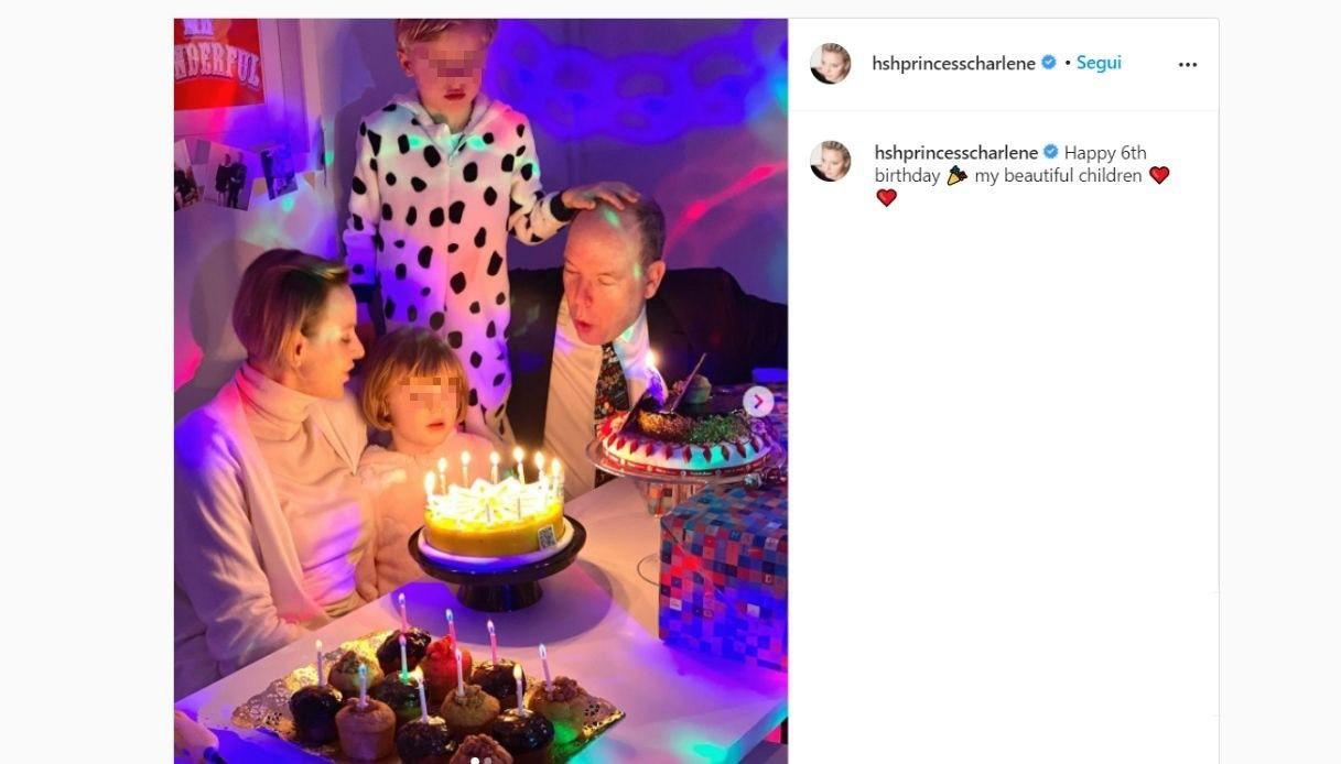Jacques e Gabriella di Monaco su Instagram