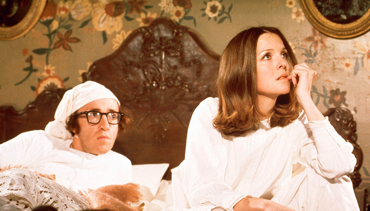 Diane Keaton e Woody Allen