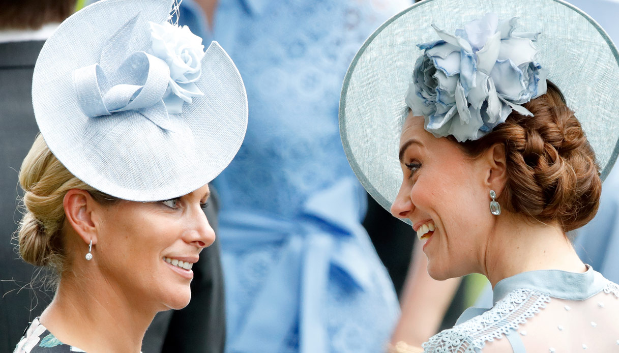 Zara Tindall Kate Middleton