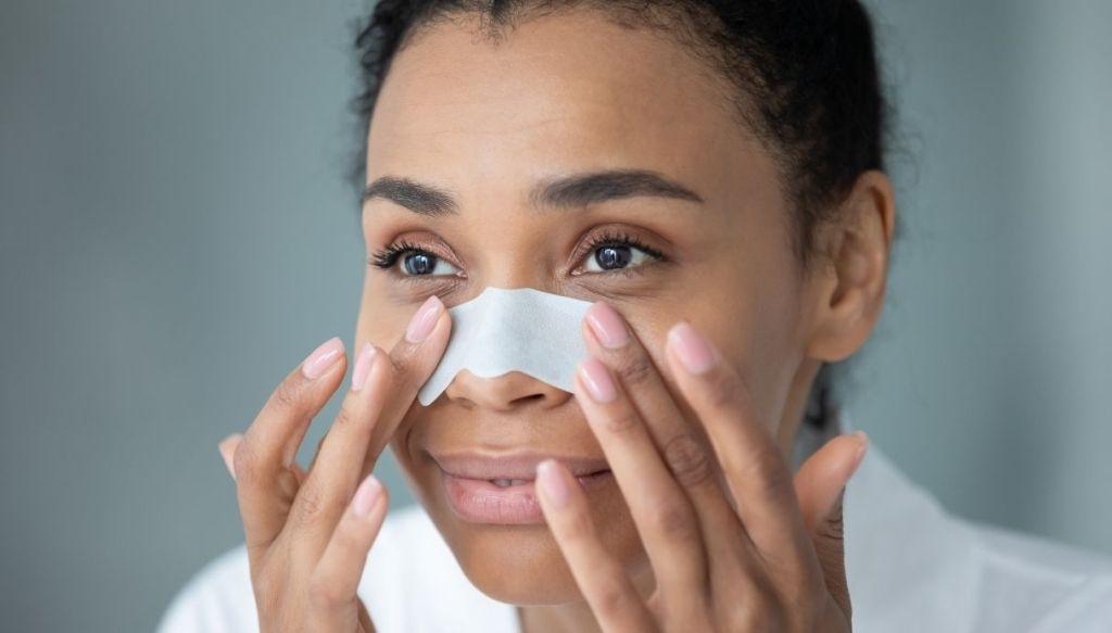 Cerotto per punti neri per rimuovere punti neri sul naso