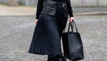 La gonna plissé: ispirazione street style