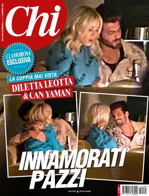 Diletta Leotta e Can Yaman su Chi