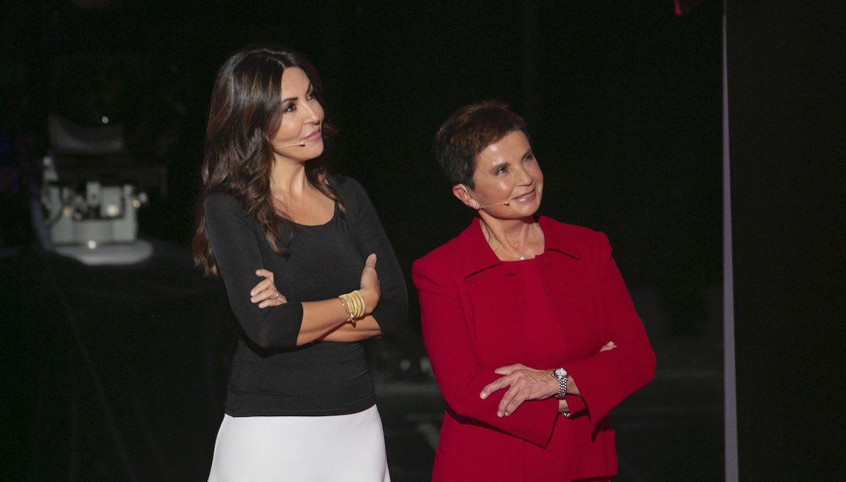 Sabrina Ferilli con la mamma Ida